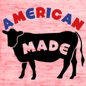 AMERICAN MADE beef cow T-Shirts - Women's Flowy Tank Top by Bella