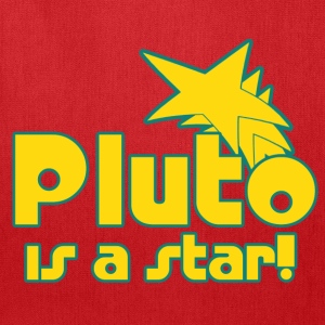 Pluto is a Star - Tote Bag