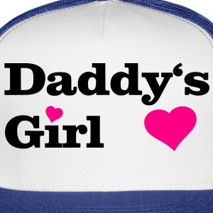 Daddy's Girl I Love Dad daddy i heart Women's T-Shirts - Trucker Cap