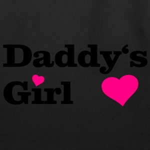 Daddy's Girl I Love Dad daddy i heart Women's T-Shirts - Eco-Friendly Cotton Tote
