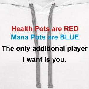 Health Mana Pots Valentines Special T-Shirts - Contrast Hoodie