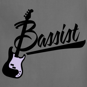 bassist T-Shirts - Adjustable Apron