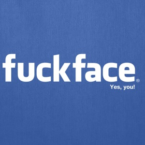 Fuckface (White) - Men's - Tote Bag