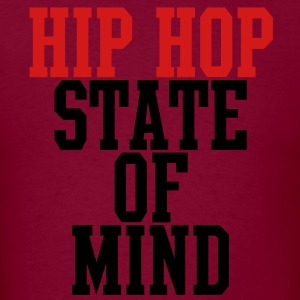 Hip Hop State of Mind Hoodies - Men's T-Shirt