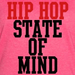 Hip Hop State of Mind Tanks - Women's Vintage Sport T-Shirt