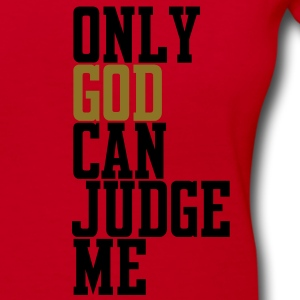 Only God Can Judge Zip Hoodies/Jackets - Women's V-Neck T-Shirt