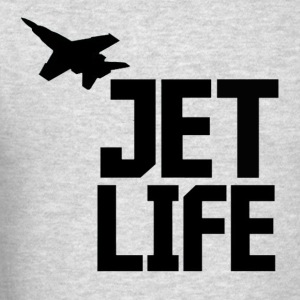 Jet Life Crewneck - Men's T-Shirt