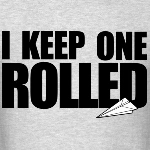 Keep One Rolled Crewneck - Men's T-Shirt