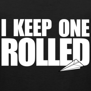 Keep One Rolled Crewneck - Men's Premium Tank