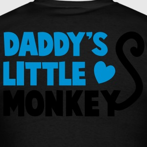 DADDY's little monkey with a cute little tail Long Sleeve Shirts - Men's T-Shirt