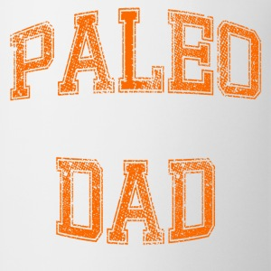 Paleo Dad Men's T-Shirt (Orange Logo) - Coffee/Tea Mug