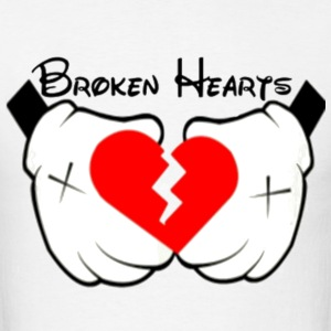 Broken Hearts Hoodie - Men's T-Shirt