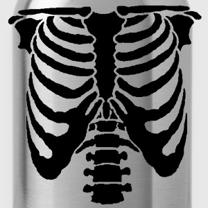 A Human rib cage great for Halloween events and sc - Water Bottle