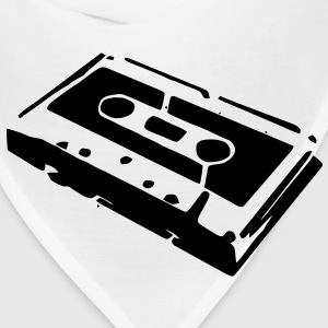 An audio cassette tape for those that love music mix tapes T-Shirts - Bandana