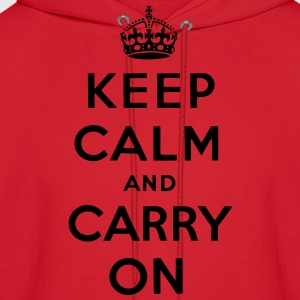 Keep Calm And Carry On Long Sleeve Shirts - stayflyclothing.com  - Men's Hoodie