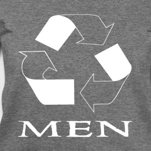 recycle men white T-Shirts - Women's Wideneck Sweatshirt