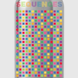 Electronic light cubes rhythm of Sequences - Water Bottle