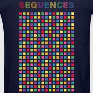 Sequences light cubes 1 - Men's T-Shirt