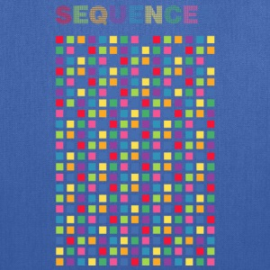 Sequences light cubes 1 - Tote Bag