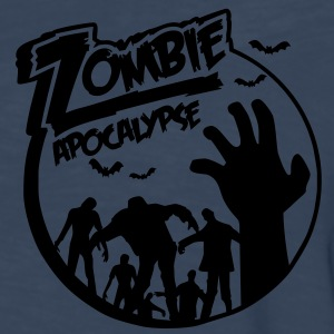 Zombie Apocalypse Hoodies - Men's Premium Long Sleeve T-Shirt
