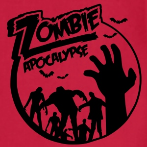 Zombie Apocalypse Hoodies - Adjustable Apron
