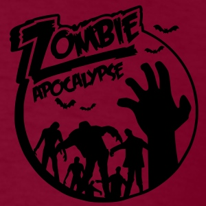 Zombie Apocalypse Hoodies - Men's T-Shirt