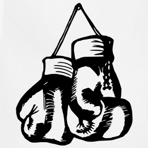 Boxing Gloves / Boxing Vector Design Women's T-Shirts - Adjustable Apron