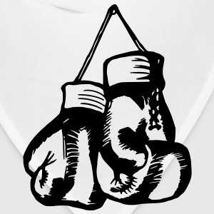 Boxing Gloves / Boxing Vector Design Women's T-Shirts - Bandana