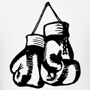 Boxing Gloves / Boxing Vector Design Hoodies - Men's T-Shirt
