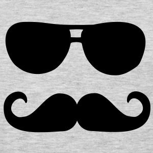 Mustache sunglasses Women's T-Shirts - Men's Premium Long Sleeve T-Shirt