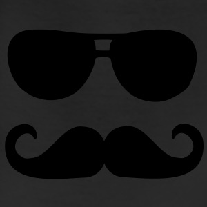 Mustache sunglasses Women's T-Shirts - Leggings