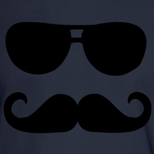 Mustache sunglasses T-Shirts - Men's Long Sleeve T-Shirt