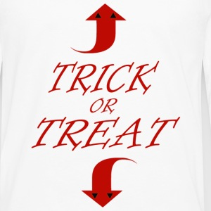 trick or treat - Men's Premium Long Sleeve T-Shirt