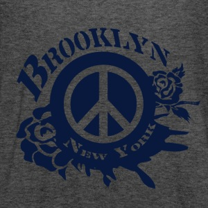 Brooklyn New York Peace Women's T-Shirts - Women's Flowy Tank Top by Bella