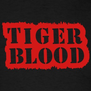 Tiger blood - Men's T-Shirt