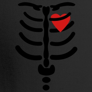 Skeleton / Rib / Heart Vector Design Hoodies - Trucker Cap