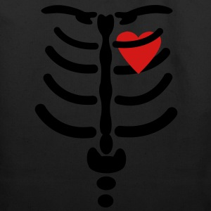 Skeleton / Rib / Heart Vector Design Hoodies - Eco-Friendly Cotton Tote