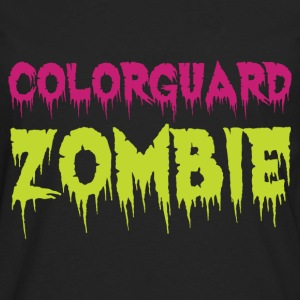 Colorguard Zombie - Men's Premium Long Sleeve T-Shirt