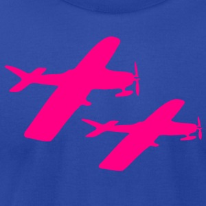 Airplane Women's Longer Length Fitted Tank - Men's T-Shirt by American Apparel