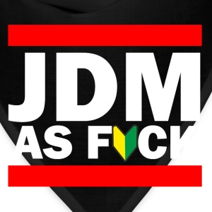 JDM AS FUCK (JDM Logo) Long Sleeve Shirts - Bandana
