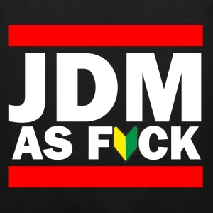 JDM AS FUCK (JDM Logo) Women's T-Shirts - Men's Premium Tank