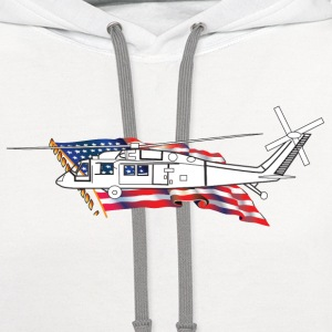Helicopter - Contrast Hoodie
