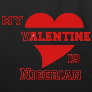 Nigerian valentine - Eco-Friendly Cotton Tote