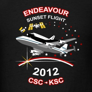 Endeavour Commemoration Hoodies - Men's T-Shirt