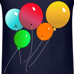 Balloons - Men's T-Shirt