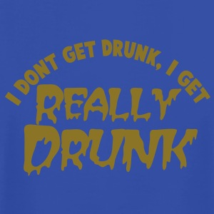 I Don't get DRUNK, I get REALLY DRUNK St Patrick's day party design Tanks - Men's T-Shirt by American Apparel