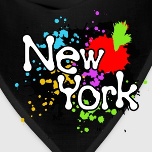 New York Colorful Splats - Bandana