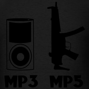 MP3 / MP5 Evolution Vector Design Hoodies - Men's T-Shirt