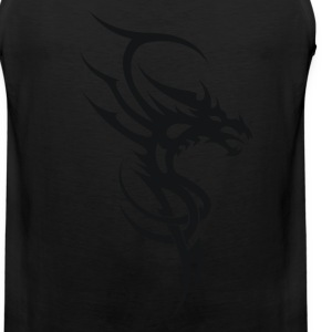 Dragon Tribal Tattoo 4 Women's T-Shirts - Men's Premium Tank