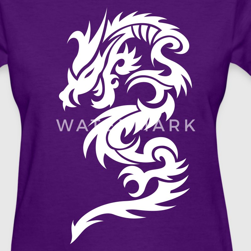 Dragon Tribal Tattoo 10 Women's T-Shirts - Women's T-Shirt